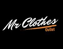 Identidade Visual para  Loja Mr.Clothes  Outlet