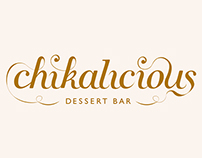 Dessert bar rebranding : Chikalicious