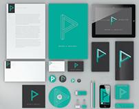 Perception Animation logo and branding