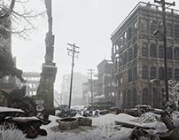 Lost city. Part 1. Winter.