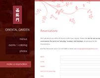 Oriental Garden | Restaurant