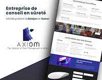 UI and Web Developement | AXIOM