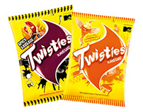Twisties Malaysia Super Star Packaging