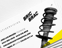 Bric Brac Logo & business cards