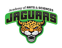 Jaguar Mascot for Academy of Arts & Sciences