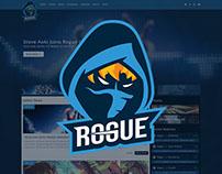 Rogue eSports | Website Concept