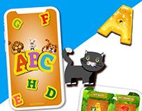 ABC game ui