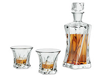 Whisky carafe set
