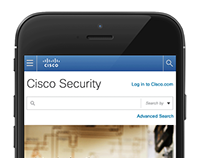 Cisco - Security Portal Rebuild & Redesign