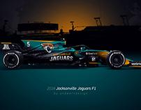 2018 Jacksonville Jaguars F1