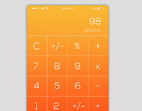 Calculator App UI Design