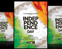 Independence Day - Flyer Design!