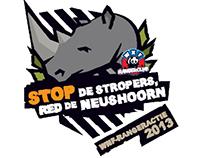 WNF | Ranger actie 2013 'Red de neushoorn'
