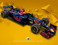 Aston Martin Red Bull Racing 2018 Concept Liveries,