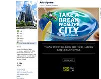 Asia Square - Take a Break in the City