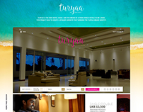 Turyaa Hotels by Aitken Spence Web Design