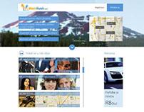MeetRush.com - web Design