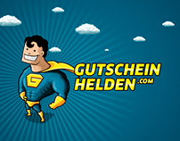 Gutscheinhelden Corporate Design