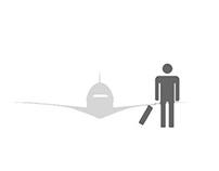 """Infografia """"Voar depois do 11 de Setembro"""""""