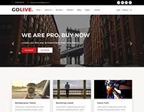 GoLive - Multipurpose WordPress Theme