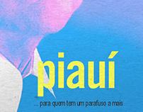 Publicidade Revista Piauí