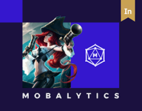 Mobalytics. Game Analytics Platform Website