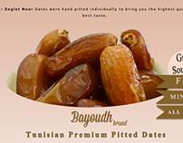 Bayoudh Brand Tunisian Premium Dates