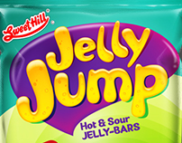 Sweet Hill Jelly Jump Packaging