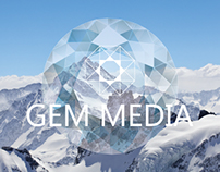 Gem Media: New Identity Branding Example