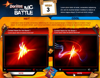 BET Interactive : Doritios Hot/Cool MC Battle