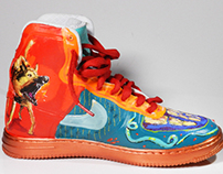 Nike Air Force Customized it for me