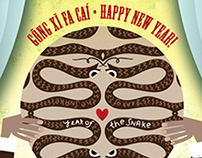 Chinese New Year: Year of the Snake