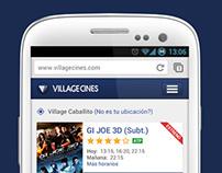 Village Cines - Compra móvil