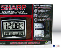 SHARP Atomic Wall Clock for Sam's Club