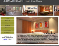 Web Design for Ultimate Space, LLC