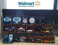 SHARP and NELSONIC Alarm Clocks for Walmart