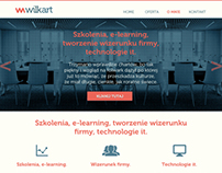 Web design for wilkart.