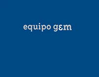 """Website design for the Arquitecture studio """"g&m"""""""
