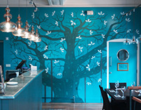 Wall Mural: Zizzi Newark (Major Oak)
