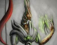 Chris Creature - Character Design (part 1)