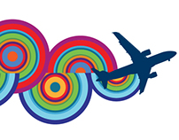 LONG BEACH AIRPORT, Signage System, Interim Branding