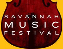 Savannah Music Festival ad/poster
