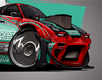 Rocket Bunny S13 for Brody Goble