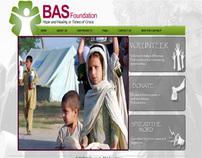 Web Design for BAS Foundation