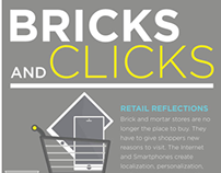 Bricks and Clicks- Motion Graphic and Infographic