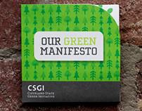 Cleveland State - Green Manifesto