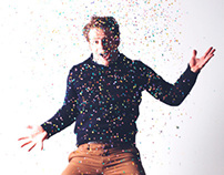 Confetti time! Photoshoot