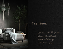 The Nook. A study in composition, light and textures.