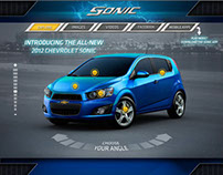 Launch Campaign Of The New Chevrolet Sonic (ME)