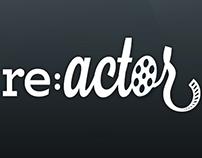 re:Actor | Conceptual Phone App Mockups